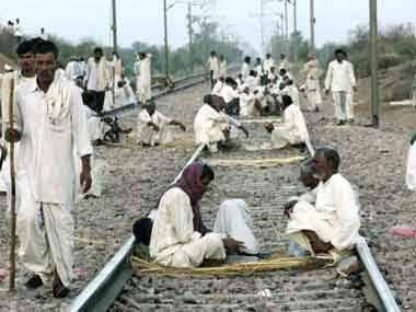 Jat stir against Reservation