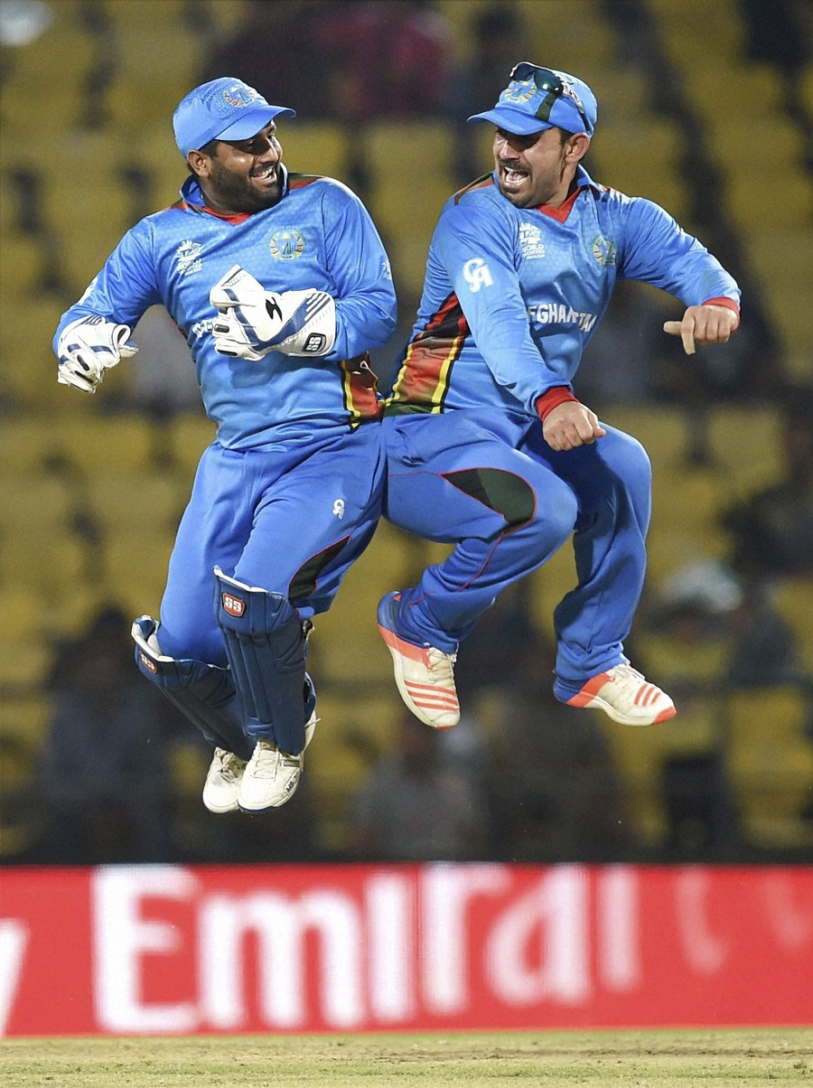 Afghanistan qualifies for the World Twenty 20