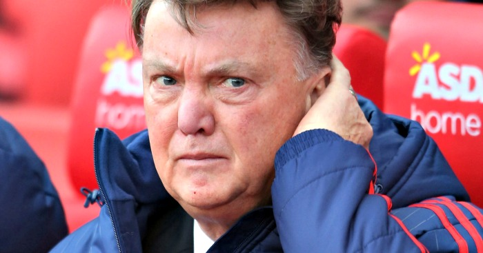 Louis Van Gaal Sacked