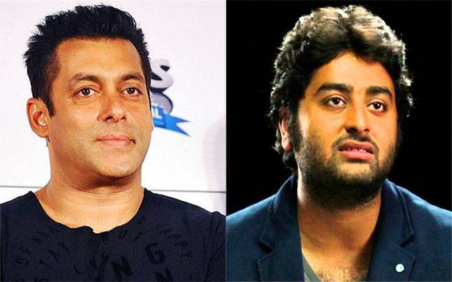 Salman Khan responds to Arijit Singh
