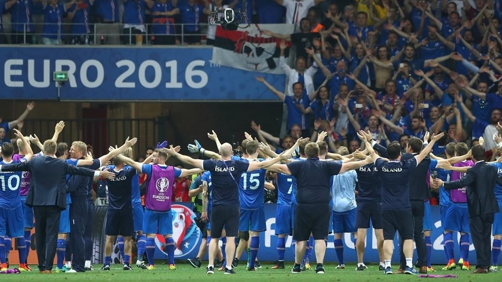 Iceland defeats England