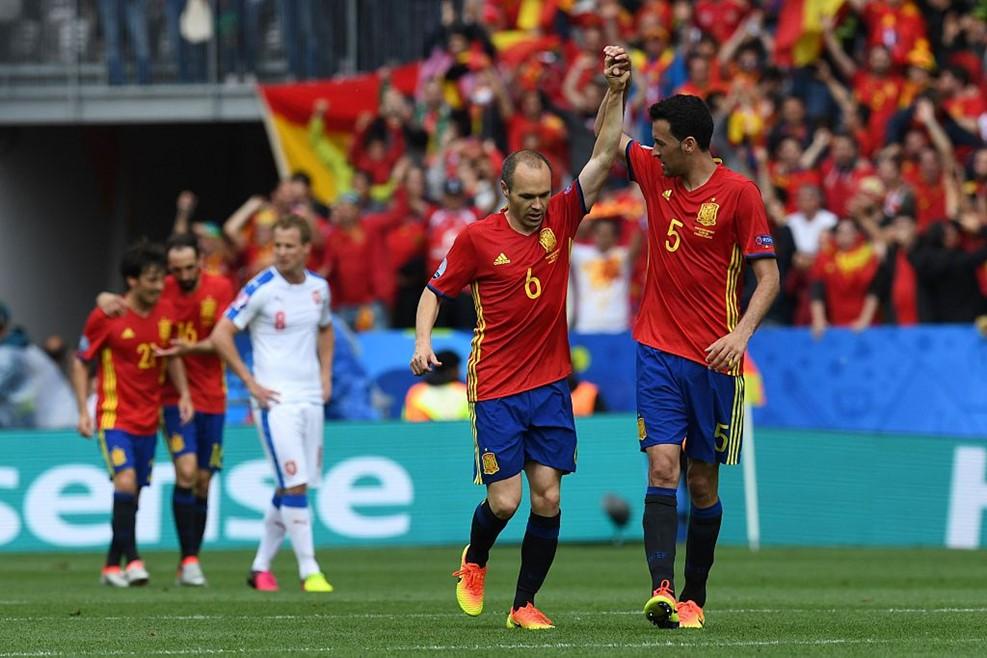 Spain v Czech