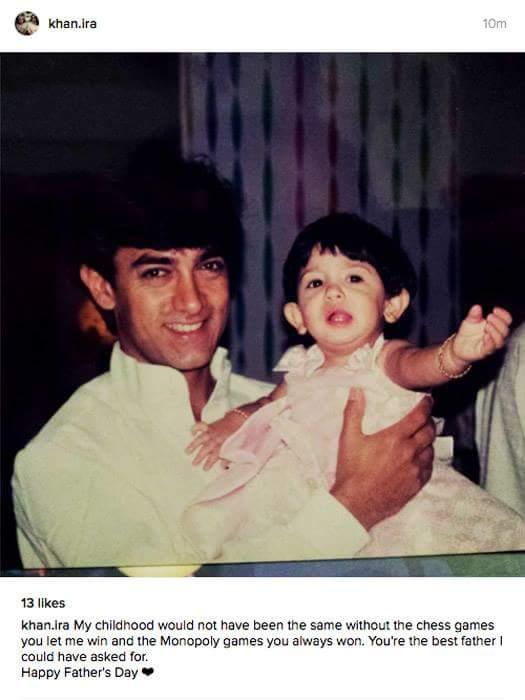 Aamir Khan daughter