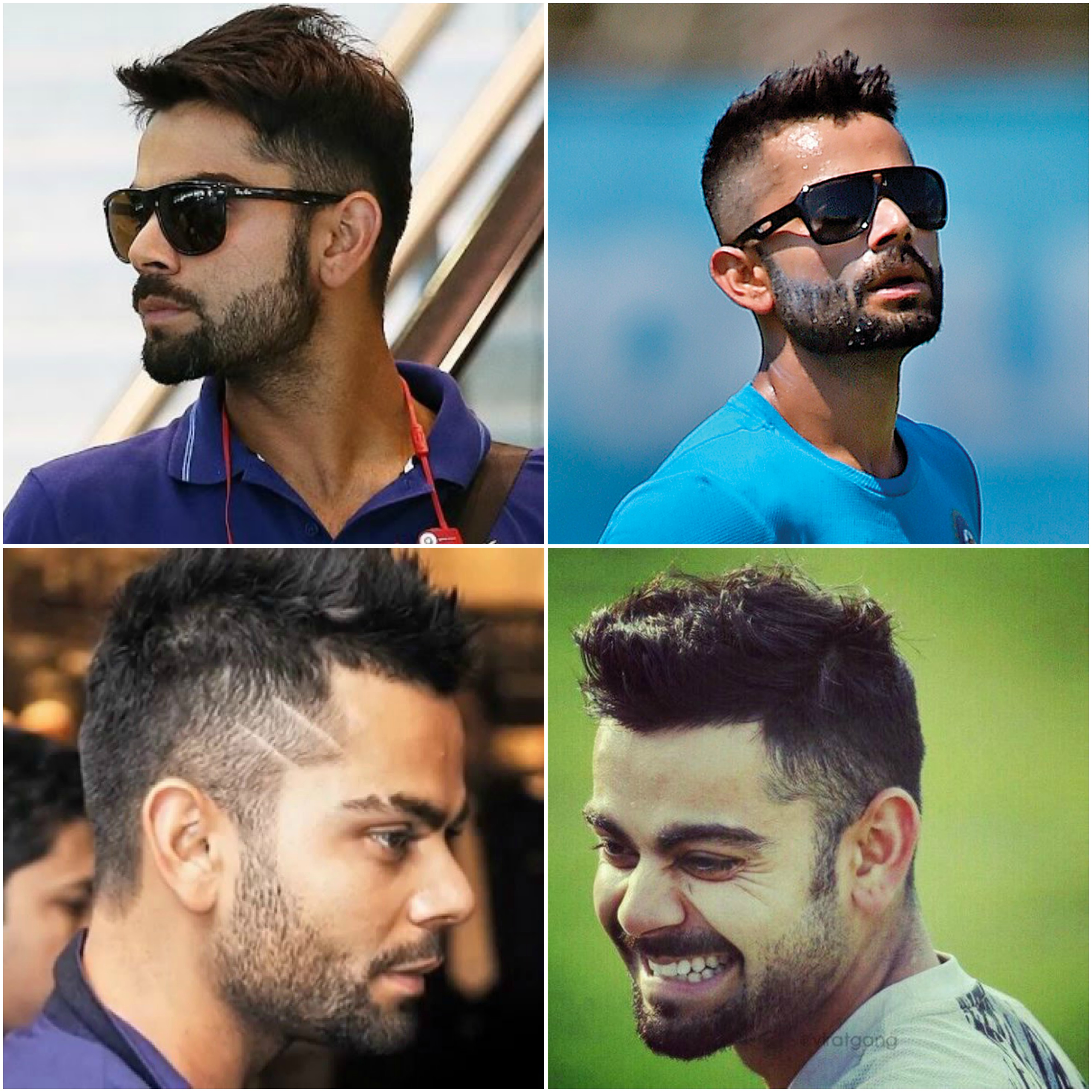 Virat Kohli New Hair Style