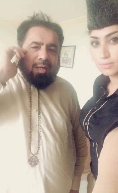 Qandeel Baloch and Mufti Addul Naqvi