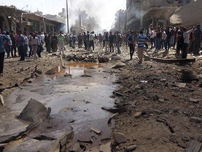 Syria Blast Photos