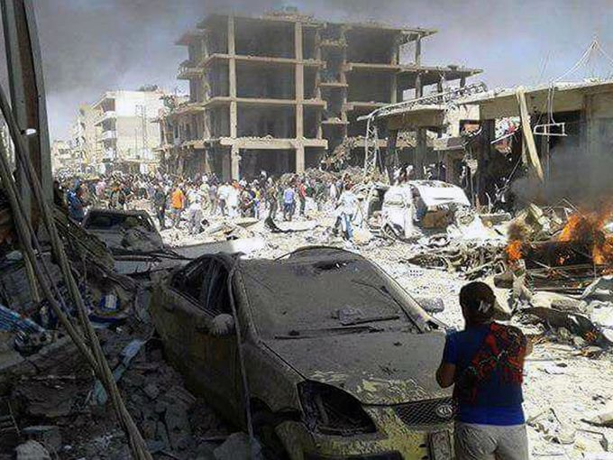 Syria Blast Photos