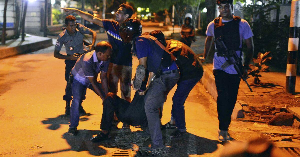 Dhaka Attack Live