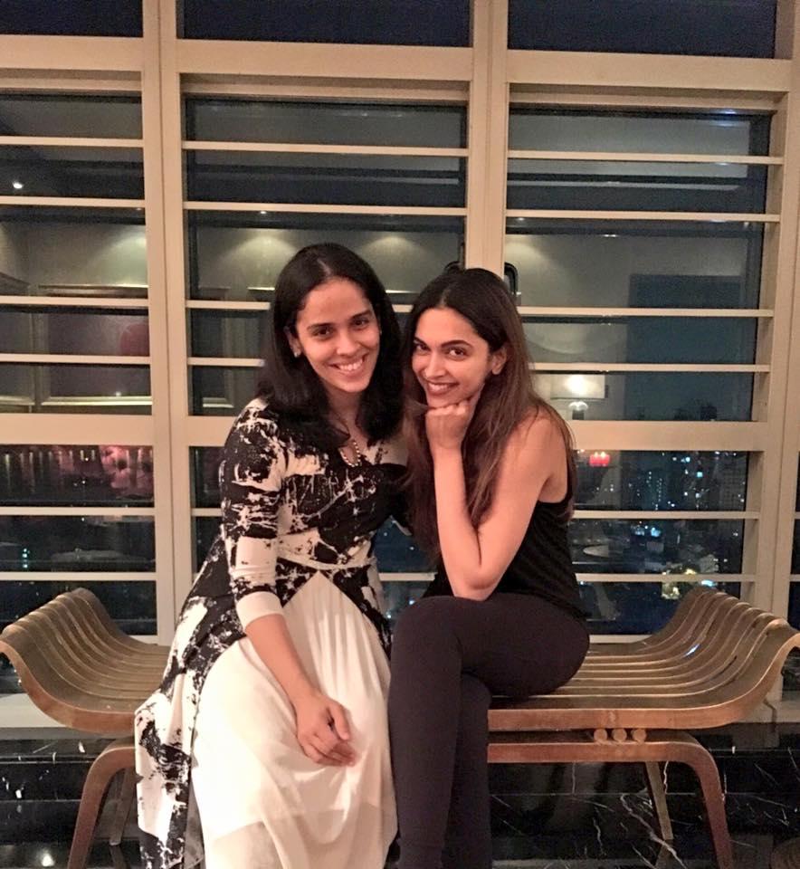 Deepika Padukone's special guest