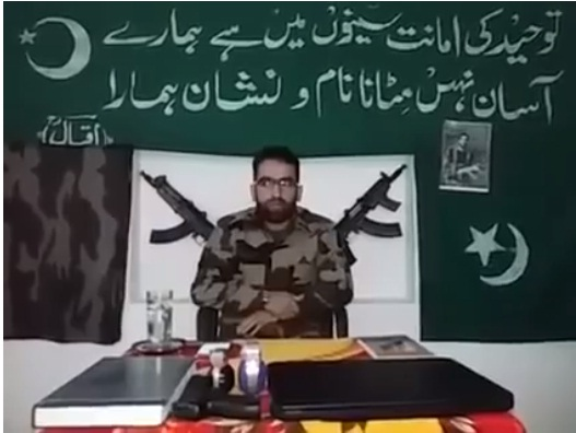 Hizbul Mujahideen new video