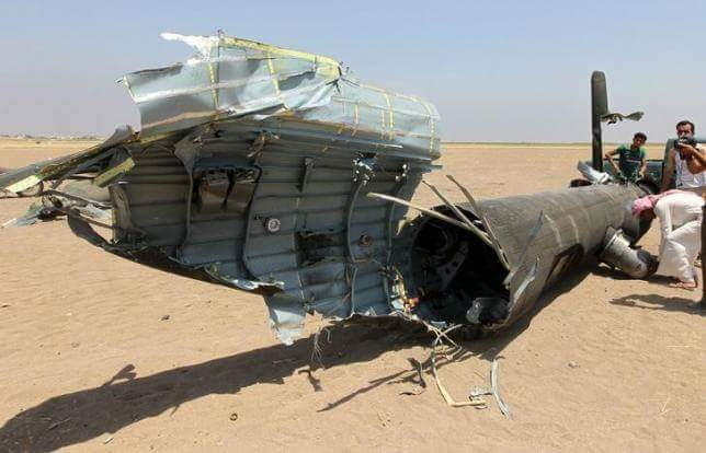 Russian Helicopter Shot Down