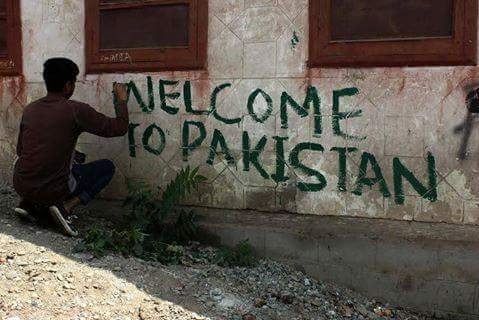 Pro-Pakistan Kashmir