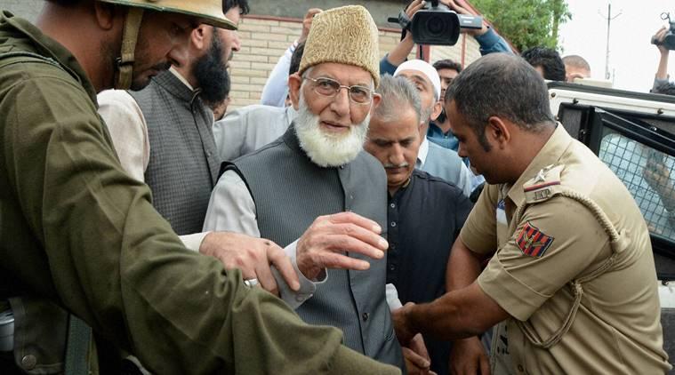 Arrest of Ali Shah Geelani