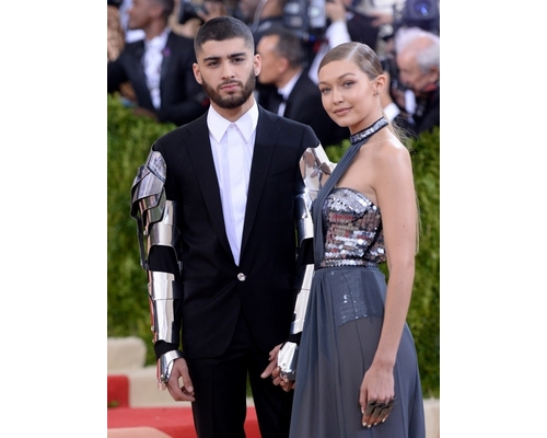 Zayn Malik and Gigi Hadid at the MET Gala 2016