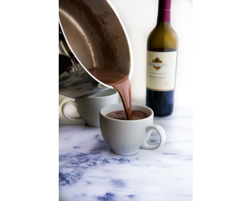 Hot Chocolate and Red Wine