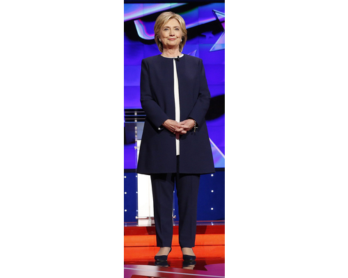 Hillary Clinton Power Dressing