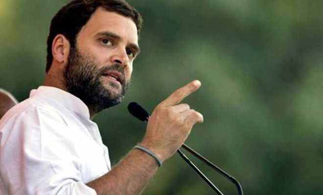 Delhi Congress seeks elevation of Rahul Gandhi as party President