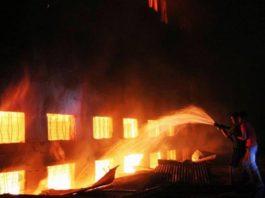 Najran Fire Incident Saudi Arabia