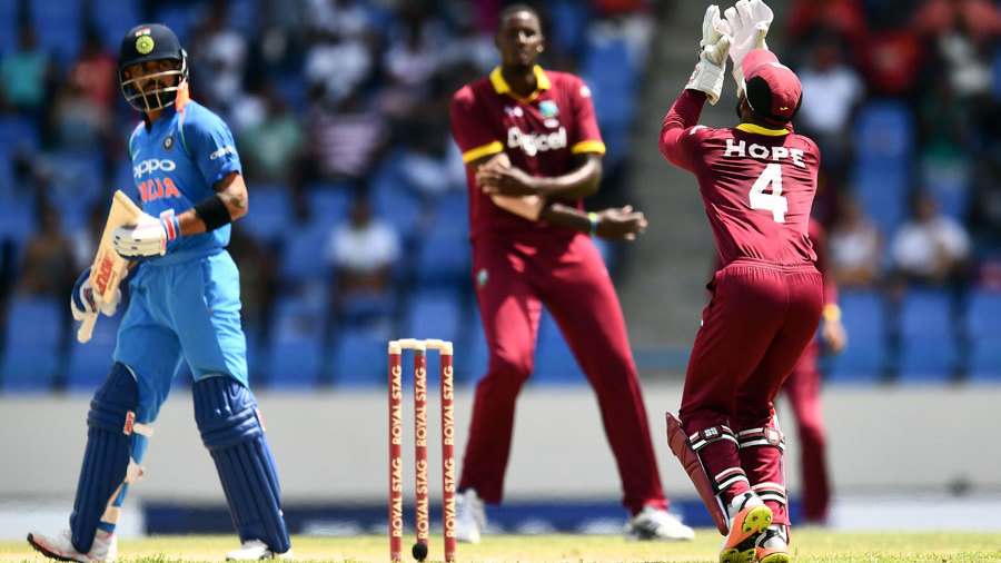West Indies bounce back from Afghanistan defeat to surprise India