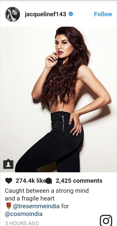 Jacqueline Fernandez Topless