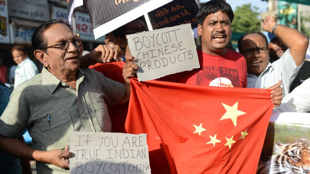 Anti China Protest