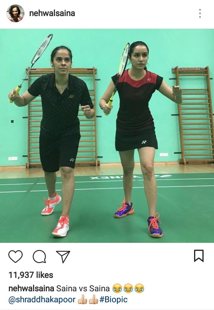 Shradhha Kapoor as Saina Nehwal