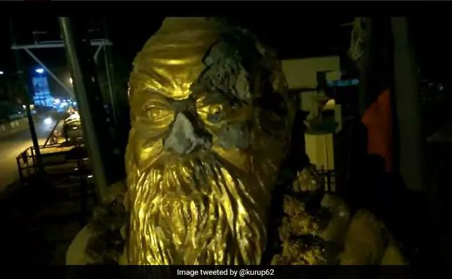 BR Ambedkar's statue vandalised in UP