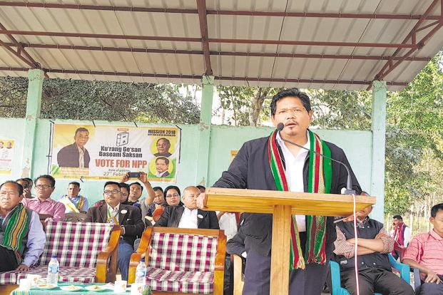 Conrad Sangma allocates portfolios to his council of ministers class=